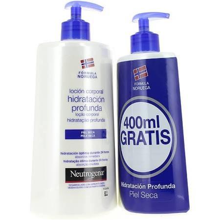 Neutrogena Loción Corporal Hidratación Profunda Piel Seca 750 ml + 400 ml