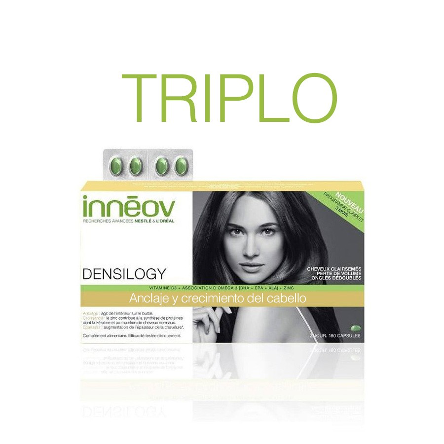 Inneov Densilogy Mujer Anclaje y Crecimiento 180 cáps