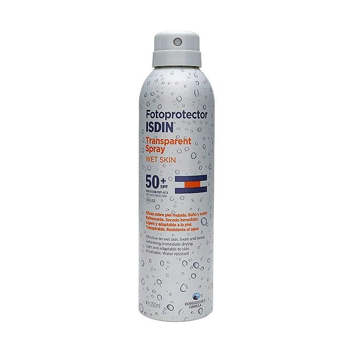 Isdin Transparent Spray Wet Skin SPF50+ 250ml
